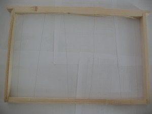 Un cadre filé