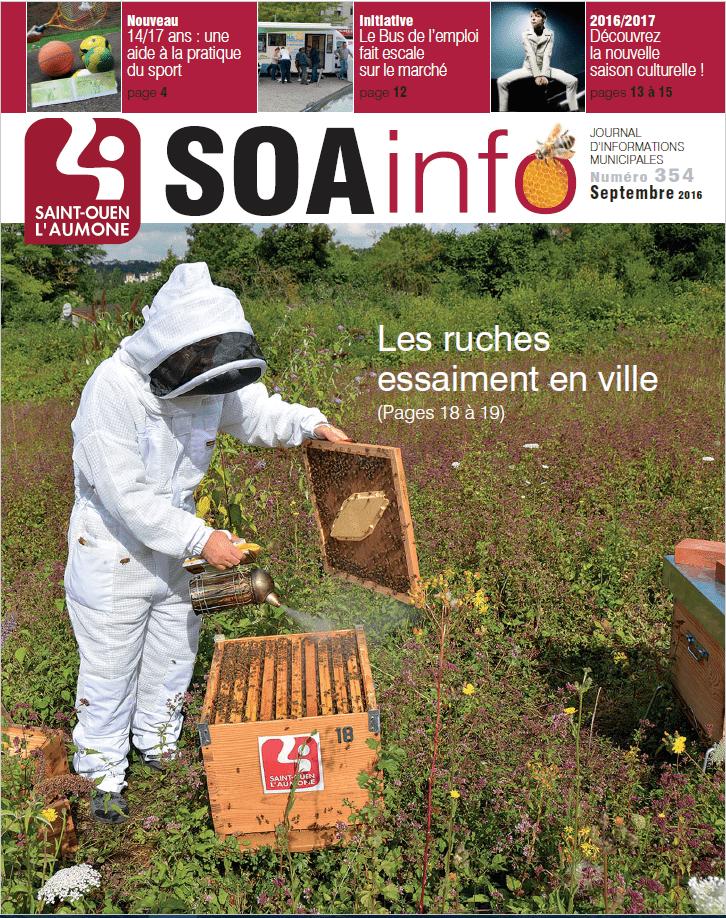 Saint Ouen l'Aumône, Les ruches essaiment en ville