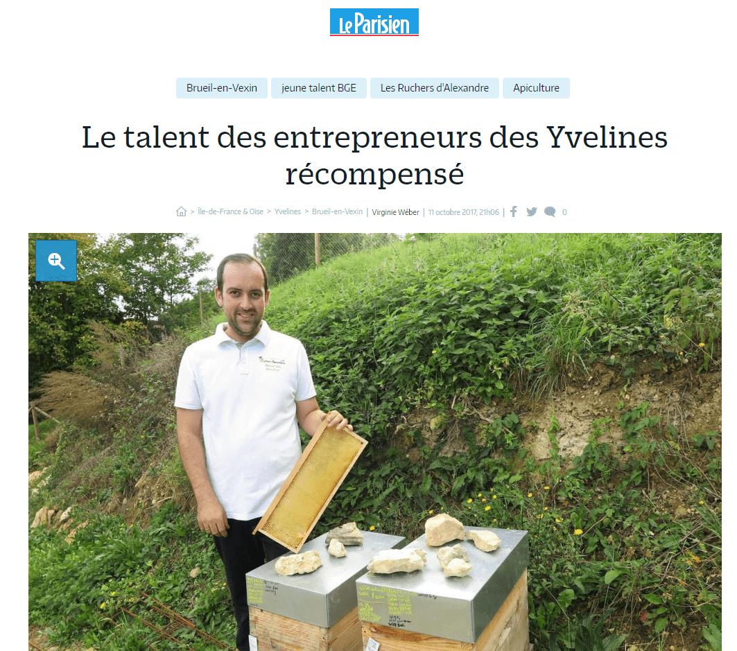 Le talent des entrepreneurs des Yvelines récompensé