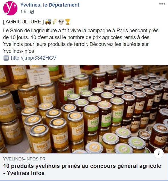 10 produits yvelinois primés au concours général agricole