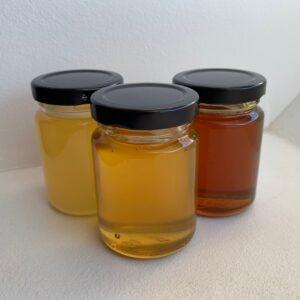 Vente de miel printemps, fleurs ou châtaignier, producteur apiculteur local